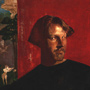 Portrait of Man in Red